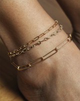 Twisted Pure anklet